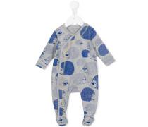 Pyjama mit Igel-Print