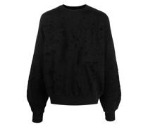 Oversized-Sweatshirt im Destroyed-Look
