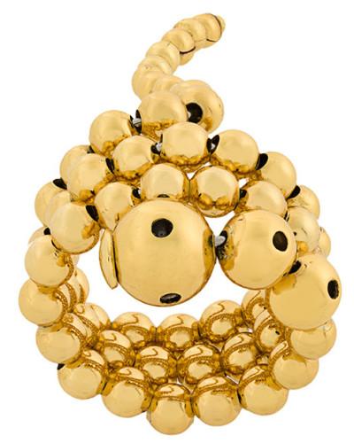 Vergoldeter 'Adriane' Ring