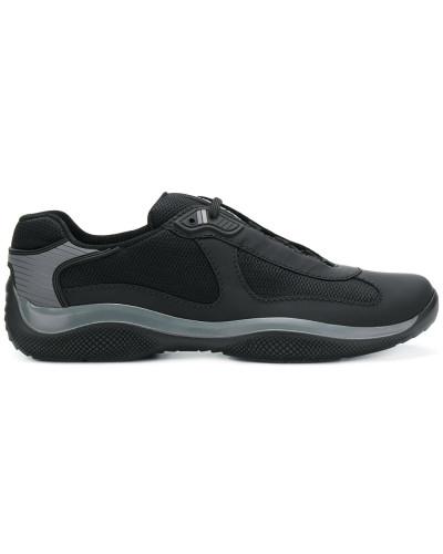 Prada Herren lace-up sneakers Erstaunlicher Preis Niedrig Versandkosten Für Verkauf DOq2T9q