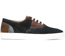 Sneakers mit Patchwork-Design