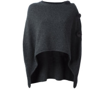 overlay knitted top