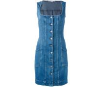 Jeanskleid mit eckigem Ausschnitt - women