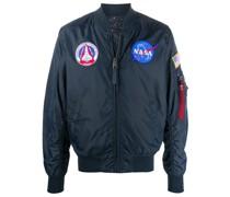 Bomberjacke mit NASA-Patch