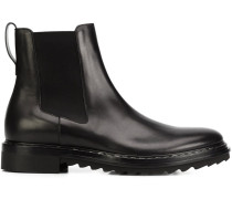Chelsea-Boots mit geriffelter Sohle