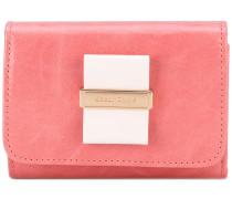 - bow front wallet - women - Kalbsleder