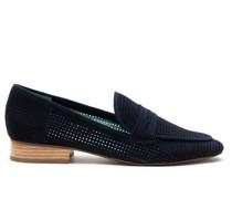 Loafer mit Lochmuster