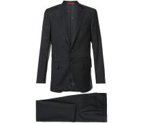 notched lapel two-piece suit - men - Wolle - 48