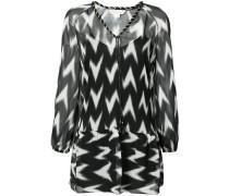 Kleid mit Print - women - Seide - S