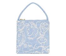 'Augusta' Handtasche mit Perlenstickerei