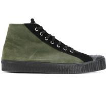 High-Top-Sneakers mit geprägter Sohle