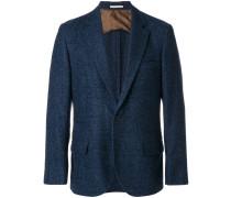 Tweed-Sakko mit Knöpfen
