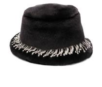 Verzierter 'Carson' Hut mit Faux Fur