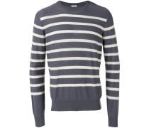 Sweatshirt mit Querstreifen - men - Baumwolle