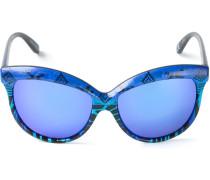 Sonnenbrille mit bedrucktem Gestell