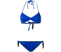 Neckholder-Bikini - women - Nylon/Elastan - L