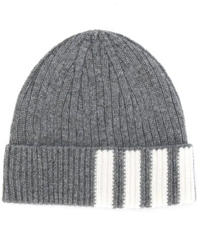 Gerippte Kaschmir-Mütze