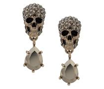 Ohrringe mit Totenkopf-Anhänger