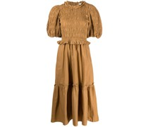 Rene smocked dress