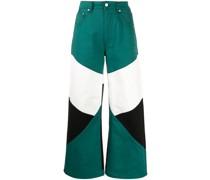 Hose in Colour-Block-Optik