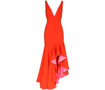 'Edana' Kleid mit V-Ausschnitt