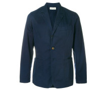 fitted three buttoned jacket