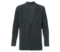 pleated blazer