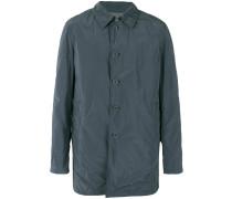 Mittellanger Mantel mit Knopfleiste
