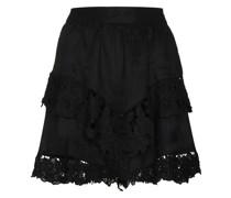 Enali lace-trim miniskirt