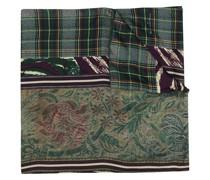 Schal mit Patchwork-Print