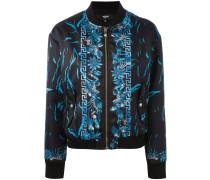 printed bomber jacket