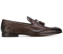 Gewebte Loafer - men - Kalbsleder/Leder - 39.5