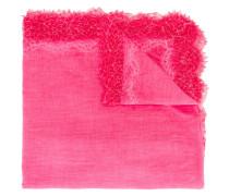 Schal mit Spitzenborten - women - Baumwolle