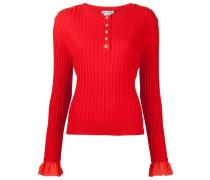 Gerippter Pullover - women - Schurwolle - M