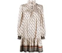 Kleid mit Pferde-Print