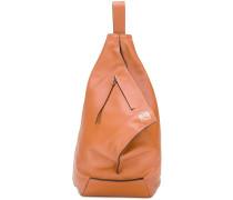 triangular structure shoulder bag