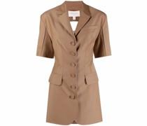 Kleid im Blazer-Look mit Schnürung