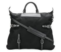 buckle strap tote bag