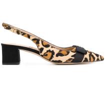 Alwyn leopard print slingback pumps