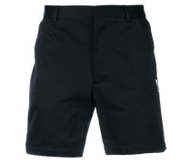 tailored logo patch shorts