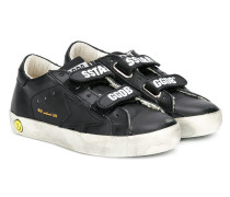 Superstar velcro strap sneakers