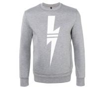 Sweatshirt mit Blitzmotiv