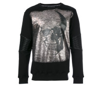 Pullover mit Totenkopfmotiv