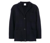 single-breasted boxy jacket