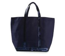Handtasche mit Paillettenbesatz