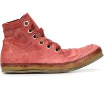 High-Top-Sneakers mit Distressed-Optik - men