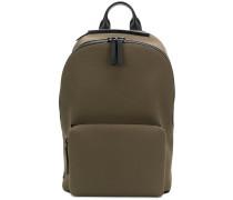 Canvas-Rucksack mit Laptopfach