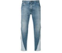 Jeans mit Einsatz