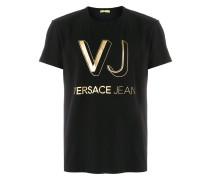 """T-Shirt mit """"VJ""""-Logo"""