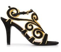 Sandalen mit gewundenem Design